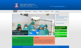 Vertimon Medical Centre, website design, front page slider, seo, cms
