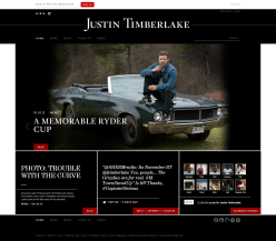 Justin Timberlake (Wordpress)