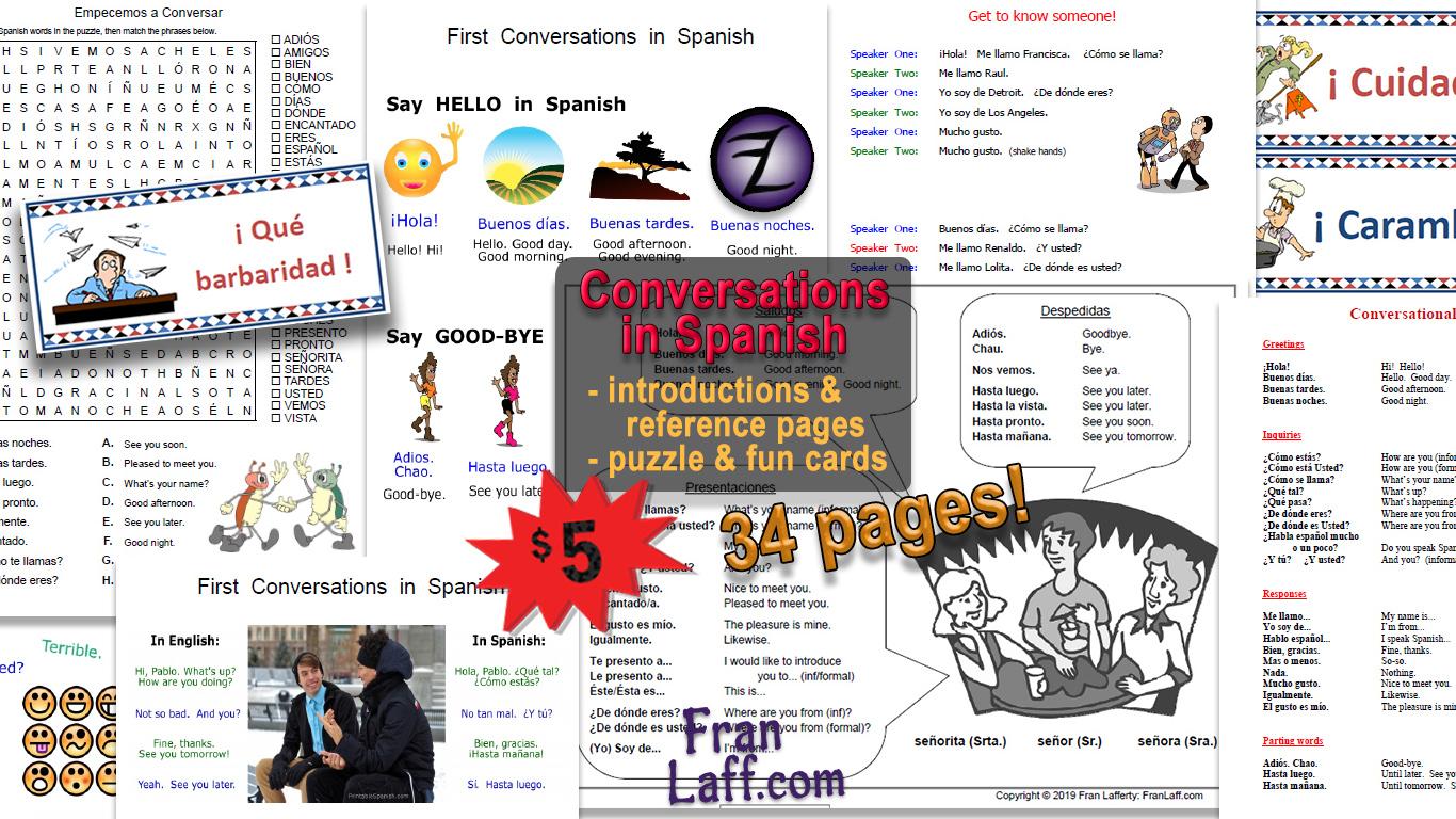 Conversations In Spanish Franlaff