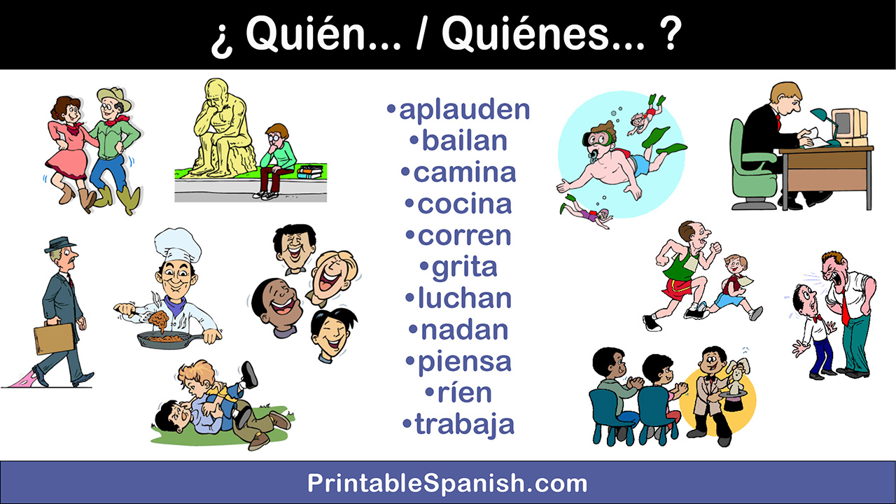 photo relating to Printable Spanish.com called Spanish