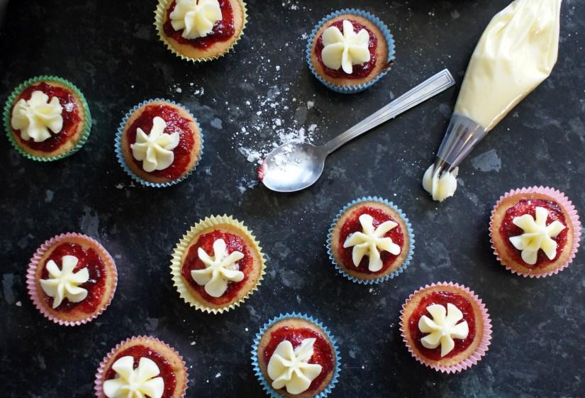 Victoria Sponge fairy cakes