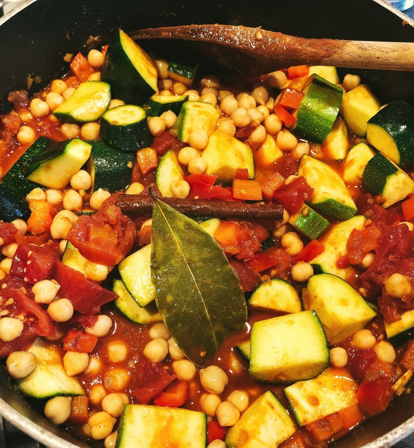 Easy vegetable tagine recipe
