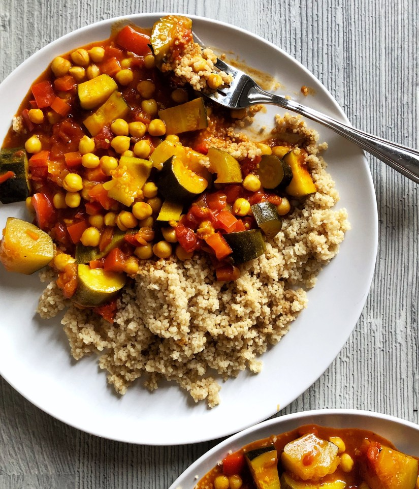 Easy vegatable tagine recipe