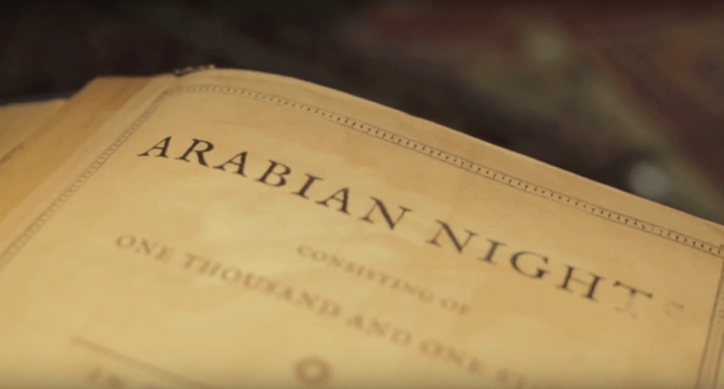 The book Arabian Nights
