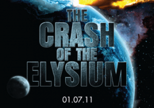 The Crash of the Elysium flyer © Punchdrunk