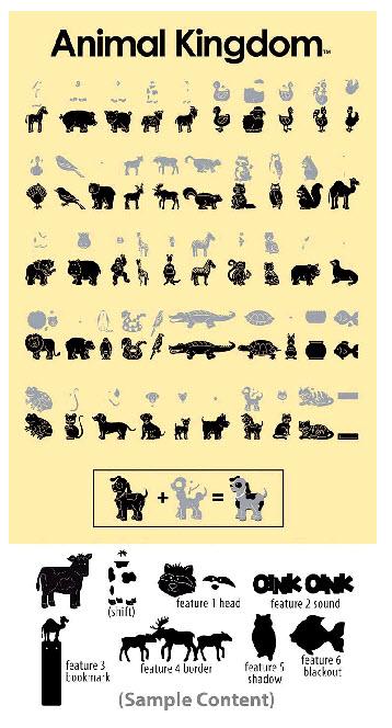 Cricut Cartridge Animal Kingdom WwwFlowersByFrannie