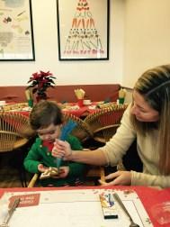 Wyevale breakfast with santa 1