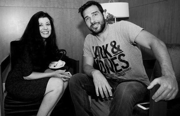 (Photo of Jeannine Guilyard and Edoardo Leo by Alberto Diamante)