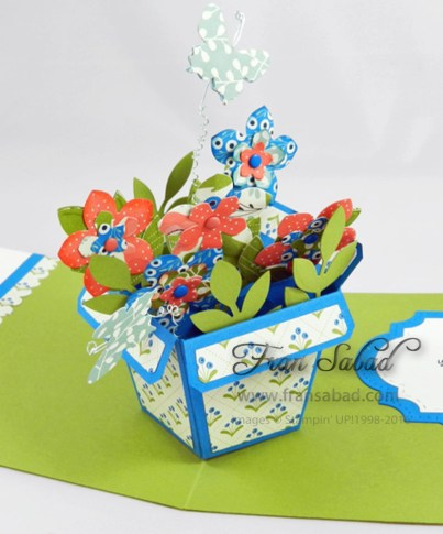 PIU Flower Pot Pop Stand 01 detail