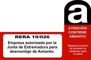 Empresa autorizada para la retirada de cubiertas con amianto