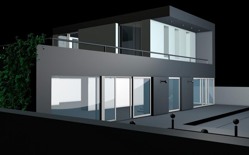 Construir casa unifamiliar en Cáceres