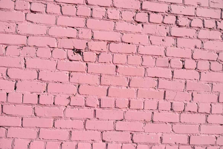 pink texture wall