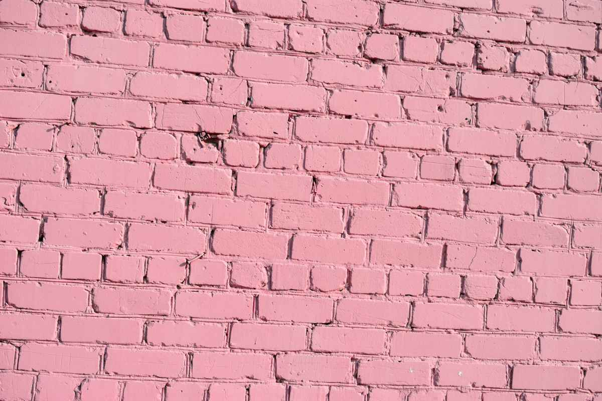 pink texture wall