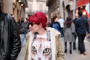 Traces #3.19 March 30, 2013, Barcelona, Barceloneta, Born and Go