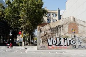Traces #4.6 September, 14, 2013, Barcelona, Sant Martí, Pobleno
