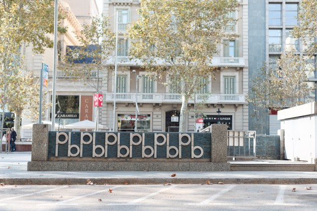 Traces #6.13 November, 11, 2013, Barcelona, Vallcarca, Eixample,