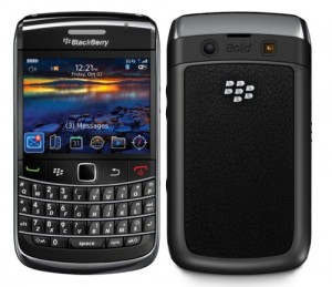 BlackBerry 9700 front and back