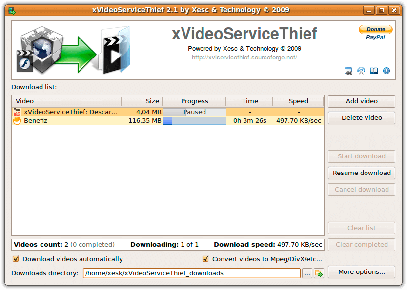 xvideoservicethief ubuntu software