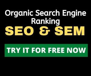high organic search ranking with SEMRush