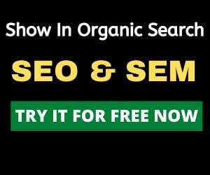 Use SEMRush to appear in organic search