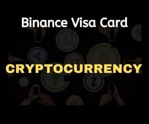Binance visa crypto card