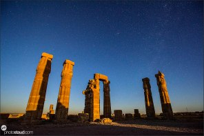 Soleb Temple at night