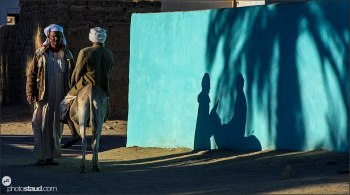Shadows on the wall, Sudan