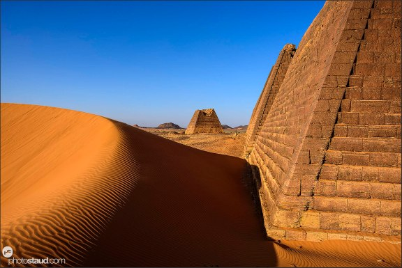 Pyramids of Meroe (Begarawiyah), Sudan