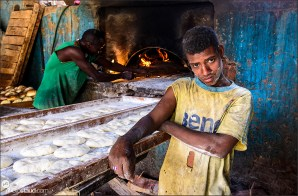 Village bakery, Sudan