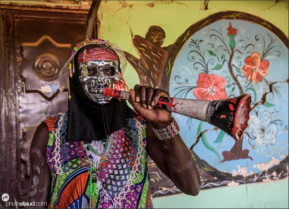 Nuba dancer, Sudan