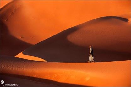 Bedouin in Empty Quarter, Rub al Khali Desert, Oman