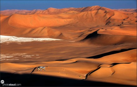 Tent camp in Empty Quarter, Rub al Khali Desert, Oman