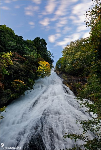 Yudaki Falls in autumn, Nikko National Park, Japan