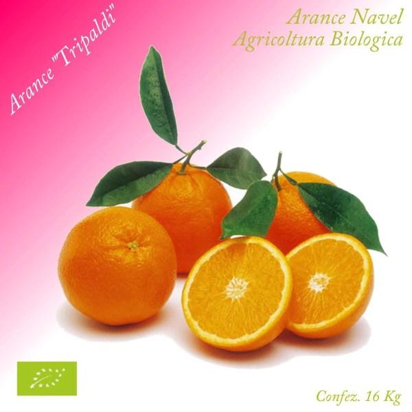 Arance Navel Biologiche «Tripaldi» 14 kg