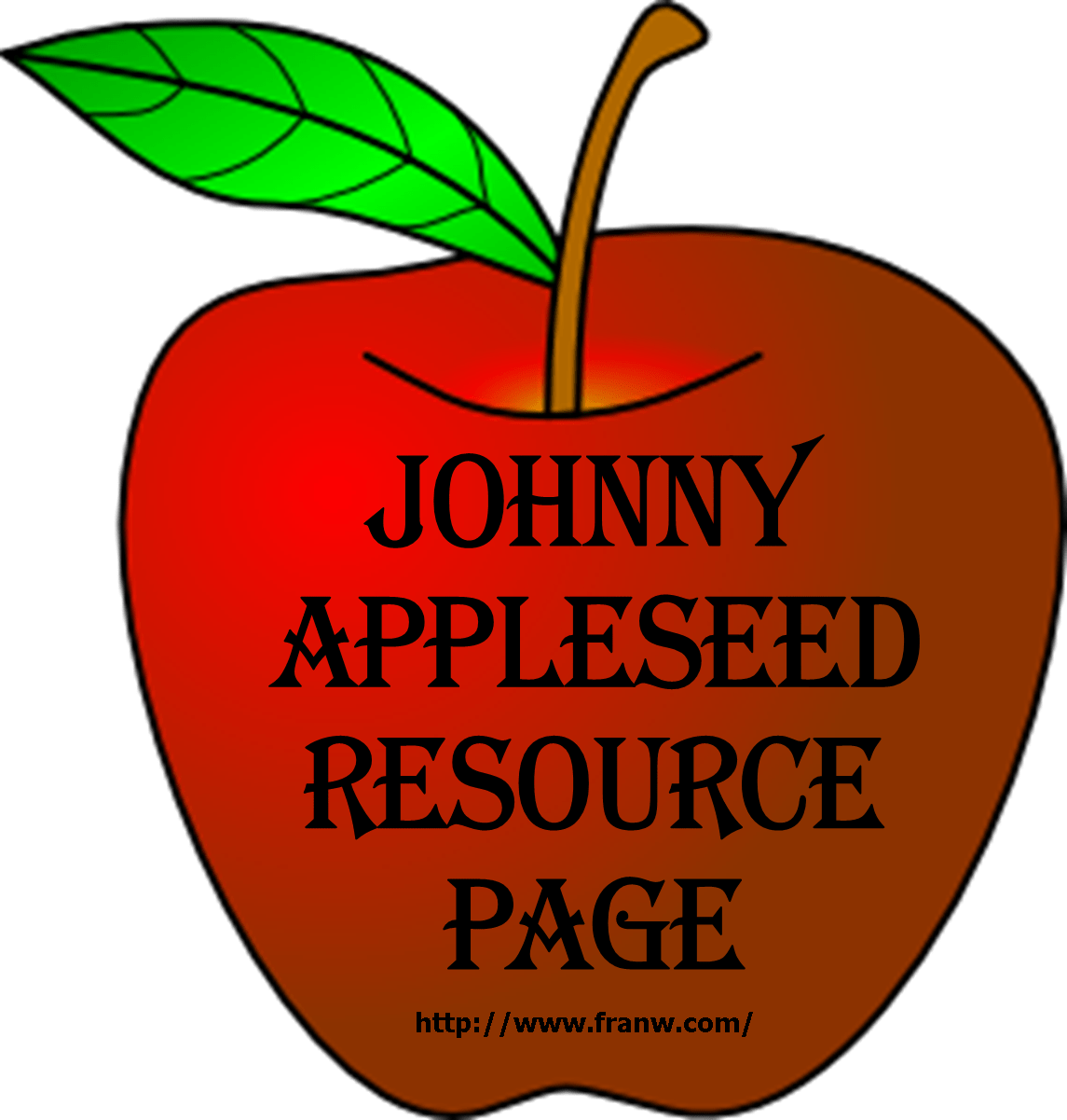 Johnny Appleseed Resource Page Franw