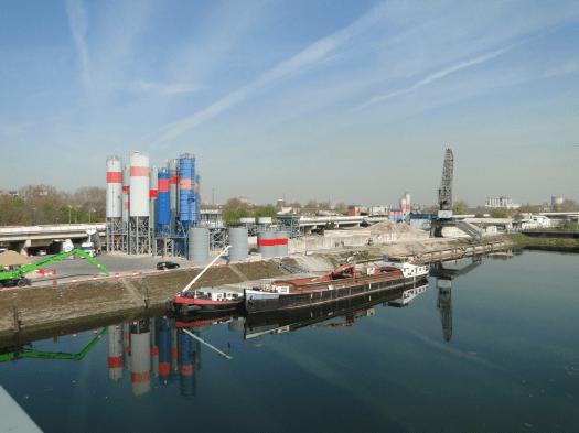 WIR verlassen Mannheim, Blick auf den Verbindungskanal