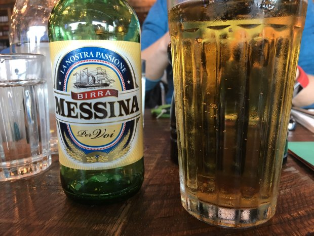 Birra Messina bottle