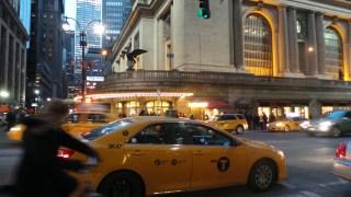 Immer in Bewegung, New York.