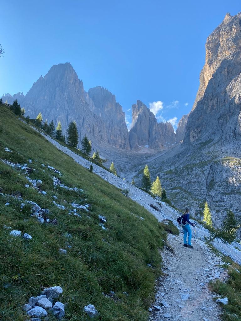 Hiking in the Val Gardena