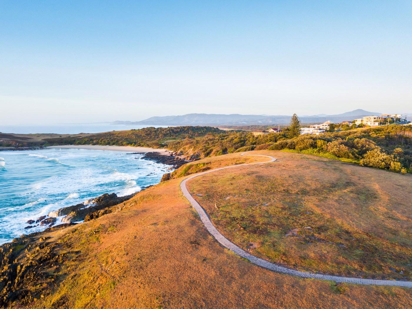 Emerald Beach, Look at me now headland - Franzi Photography