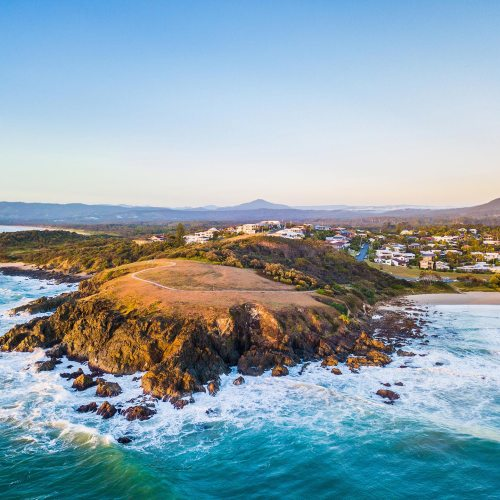 Emerald Beach Headland - Franzi Photography