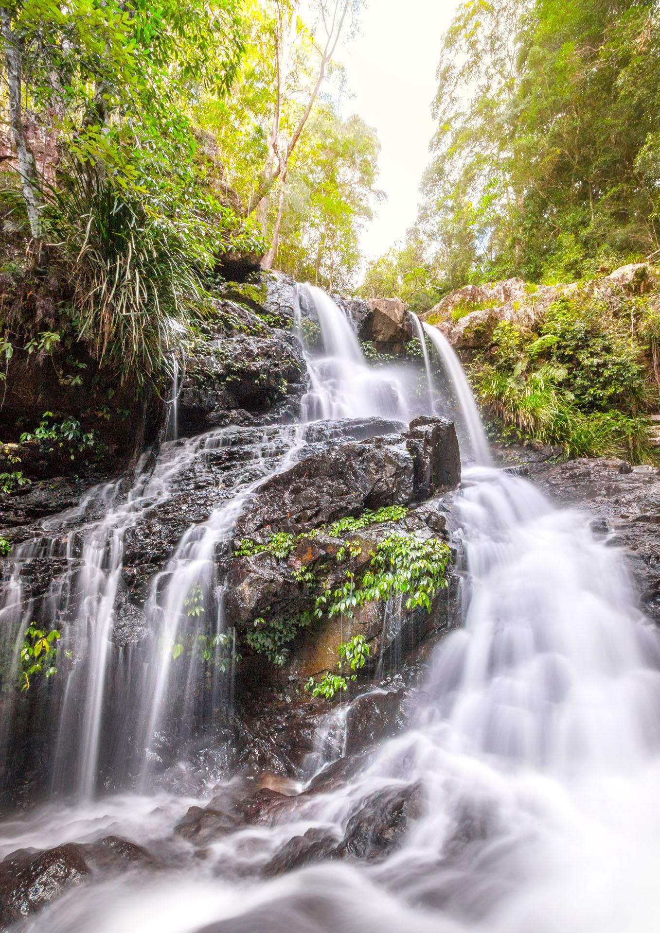 Golden Bangalore Falls - Franzi Photography