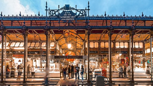 things to do, madrid, mercado de san miguel