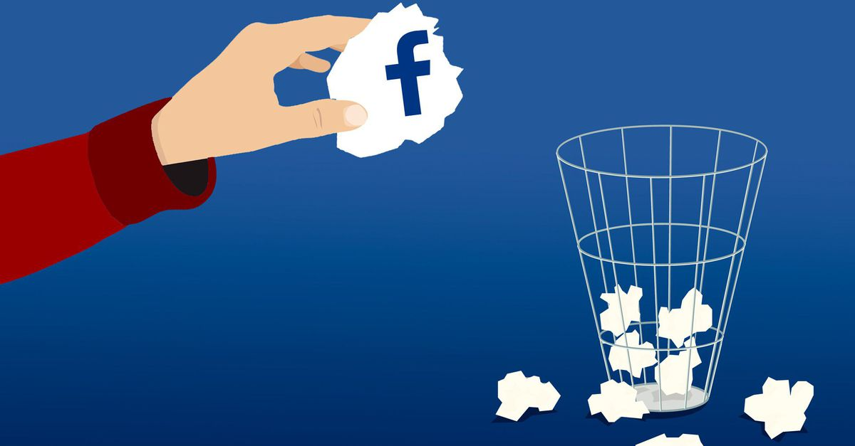 Eliminar definitivamente la cuenta de Facebook