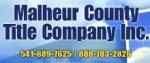 Malheur County Title Company Inc.