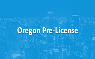 Oregon Real Estate Broker Pre-License Training
