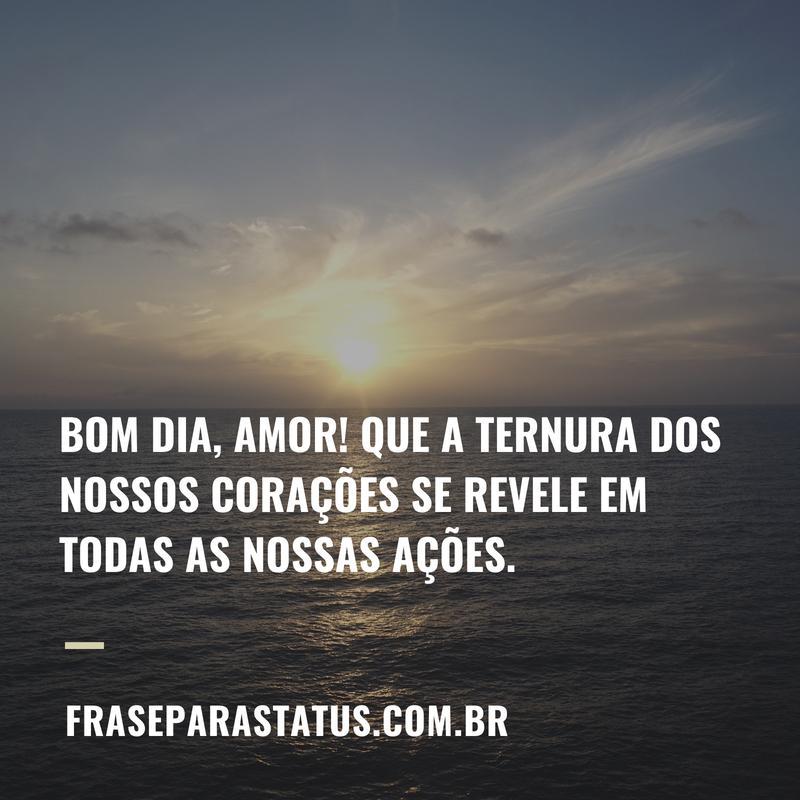 50 Frases De Amor De Bom Dia Frase Para Status