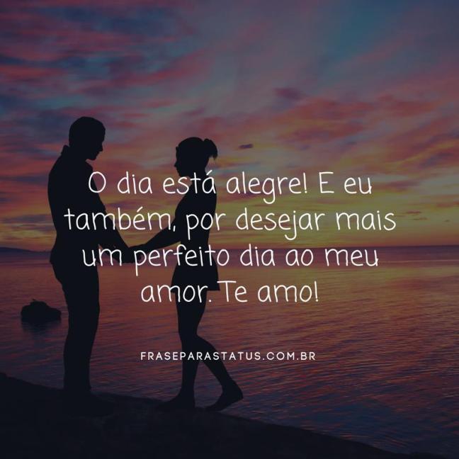 Frases De Amor De Bom Dia 11 Frase Para Status