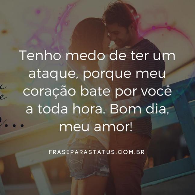 Frases De Amor De Bom Dia 7 Frase Para Status