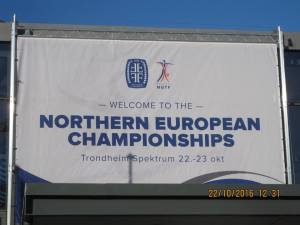 The championships being held in Trondheim